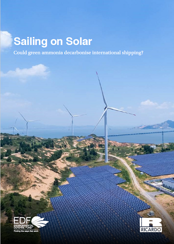 Sailing on solar cover