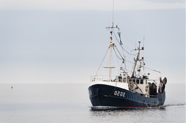 Swedish fishing vessel